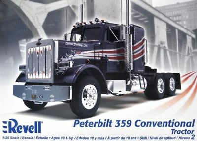 125 scale peterbilt 359 conventional semi tractor truck model by 125 scale peterbilt 359 conventional semi tractor truck model by revell publicscrutiny Images