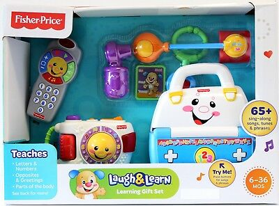 Fisher Price Laugh and Learn Learning Doctors Set Musical Medical Kit Gift Set
