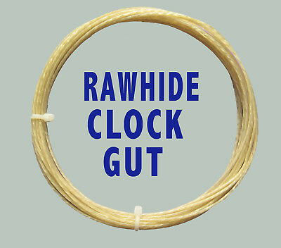 GUT for Grandfather Longcase or Fusee, RAWHIDE CLOCK LINE, super quality