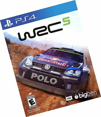 wrc 5 ps4 sony playstation 4 brand new factory sealed racing rally game cad picclick ca. Black Bedroom Furniture Sets. Home Design Ideas
