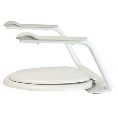 Supporter Toilet Arm Supports - With comfortable rounded hand grips