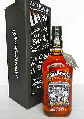 Jack Daniels Scenes From Lynchburg N0.3 -Rare LITRE Size!Complete With Neck tag!
