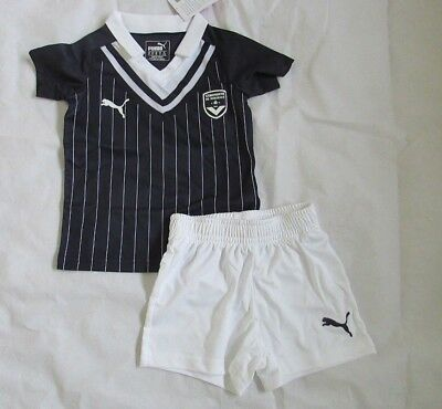 FC Bordeaux Infant Home Boxed Football Kit Brand News Navy & White Age 1-2 Years