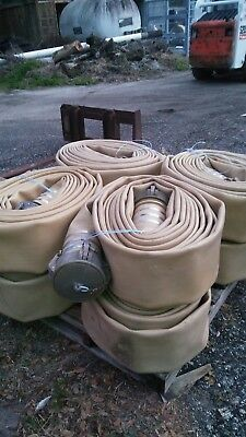 "Discharge hose, 6"" Angus high pressure,  water/fuel.  Lay flat 50' lengths"