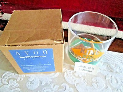 Avon Good Sport Musical Tumbler~Baseball plays~Take me out to the Ball Game~NIB