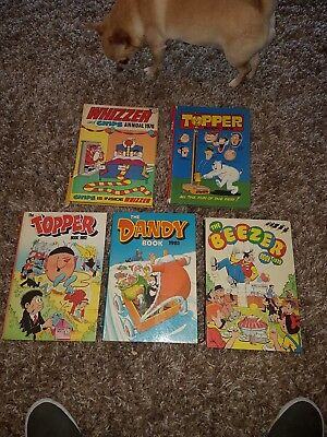 ** the topper dandy beezer whizzer and chips annual book job lot **