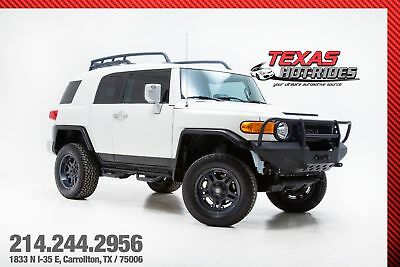 2014 Toyota FJ Cruiser 4WD Lifted With Many Upgrades 2014 White Toyota FJ Cruiser 4WD Lifted With Many Upgrades! Last year! LOOK!