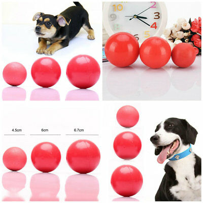 Extreme Dog Toy Rubber Ball Tough Chew Durable Pet Fetch Toys Small Medium Large