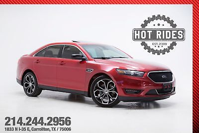 2013 Ford Taurus SHO With Upgrades 2013 Red Ford Taurus SHO With Upgrades! Sedan, twin turbo, AWD! Must see!