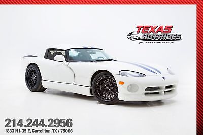 1996 Dodge Viper RT/10 Supercharged 1000+HP 1996 Dodge Viper Coupe RT/10 Supercharged 1000+HP! CCW Wheels, WE FINANCE