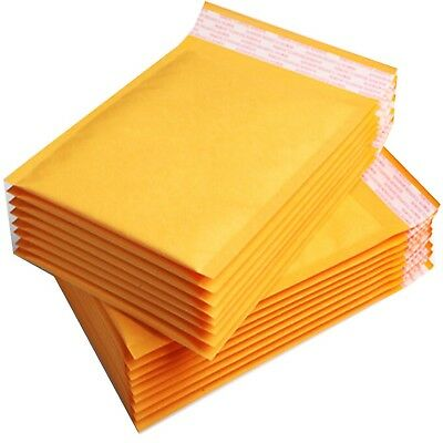 Strong Padded Bubble Wrap Lined Envelope Postal Bags Gold