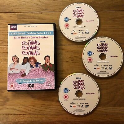 Gimme Gimme Gimme : Series 1-3 (3 DVDs) (Kathy Burke) - FREE UK postage