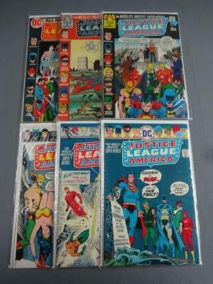 Justice League Of America Silver Age Lot Of 6-#'s 23,25,49,52,61,65-VG DC Comics