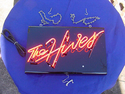 *** The Hives, Neon Sign (New),Smaller Replica Version of Stage Sign ***
