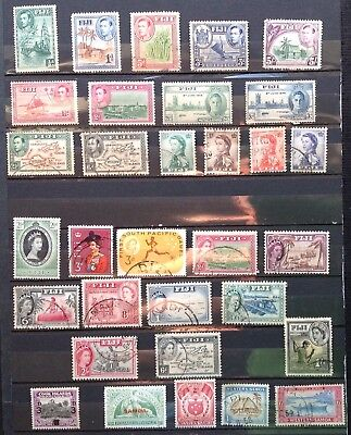 South Pacific Islands Stamps (117) Uncancelled/Fine Used