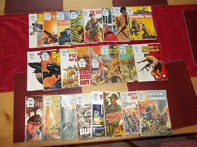 Job Lot Of 24 - War Picture Library Comics / Books
