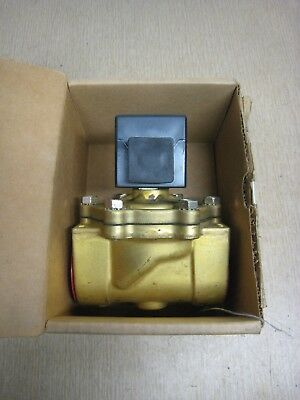 "New Asco Red Hat 8210B56 SC8210B56 1-1/2"" NPT Solenoid Valve Free Shipping"