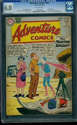Adventure Comics 283 CGC 6.0 Silver Age DC Key 1st General Zod Man of Steel L@@K