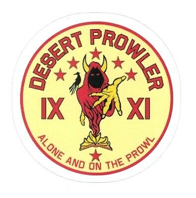 DESERT PROWLER STICKER  Classified US Black Project Mission Program Skunk Works