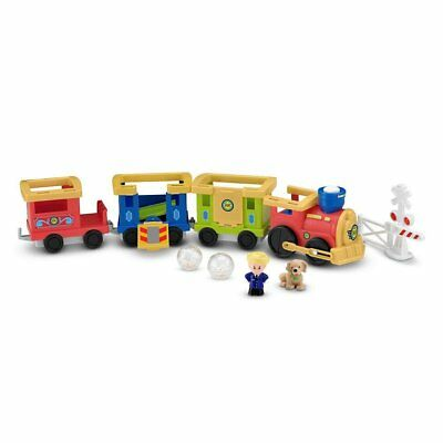 Fisher Price Little People Load & Go Train With Eddie His Pup & 3 Carriages
