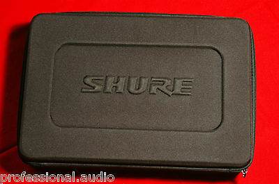 New in box SHURE DMK MICROPHONE STORAGE CASE FOR BETA 52A SM57 A56D drum mic kit