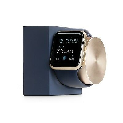 Apple Watch Native Union Charging Dock Limited Edition Color Midnight Blue Gold