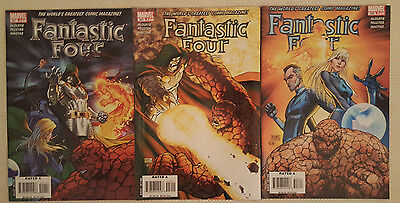 Marvel Comics FANTASTIC FOUR (2007) #551, 552, 553 THE EPILOGUE PARTS 1-3 (of 3)