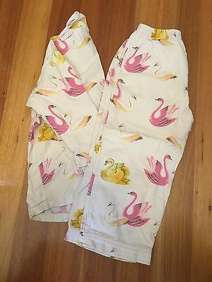 Fred Bare Girls Swan Winter Flannelette Pyjamas Size 4