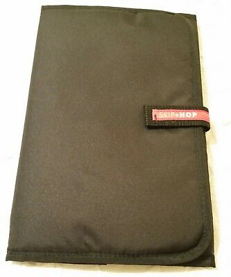 """Diaper Changing Pad Black 23"""" x 12"""" Travel Portable Waterproof Padded Infant"""