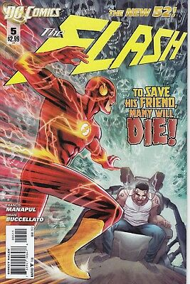 THE FLASH   5 ...4th Series ........NM-.......2012......Bargain!
