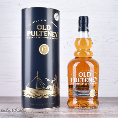 Old Pulteney 17 Year Old Single Malt Scotch Whisky 700ml *DISCONTINUED!