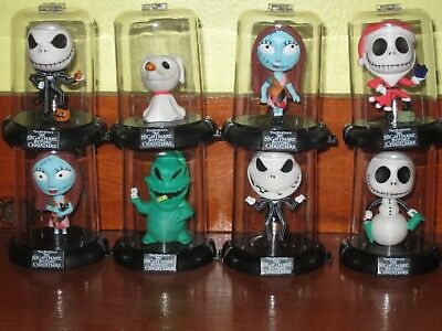 New Domez Disney The Nightmare Before Christmas Complete set of 8