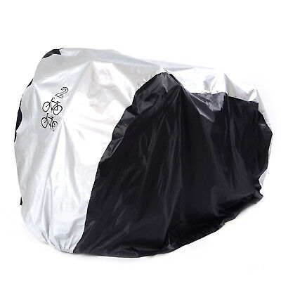 New Waterproof Dual 2 Bike Bicycle Scooter Rain Dust Snow Sun Cover Storage Bag