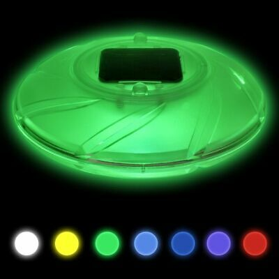 Bestway LED Solar Poollicht Poolbeleuchtung Schwimmbad Beleuchtung Poolleuchte