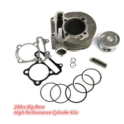 180cc Big Bore High Performance Cylinder Kits for GY6 125cc 150cc 61mm Scooter