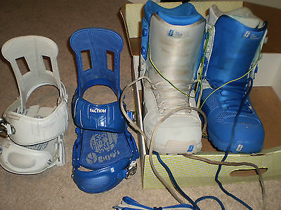 SNOWBOARD BOOTS AND BINDINGS Size 13 mens 🏂