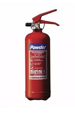 ABC 1KG DRY POWDER FIRE EXTINGUISHER, Taxi, Car, Van, Home Extinguisher, Fire