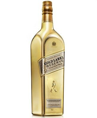 Johnnie Walker Gold Bullion Reserve World Maps Limited Edition Whisky 1 Litre!
