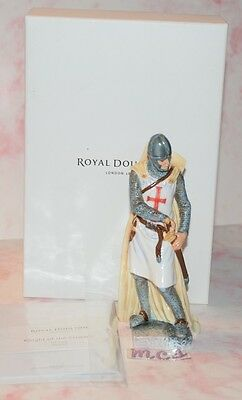 Royal Doulton Limited Edition Hn Icons Knight Of The Crusade 0458 Of 2500 New