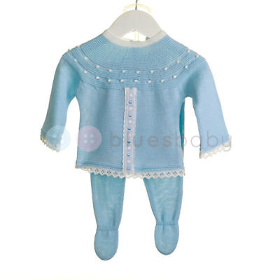 Zip Zap Romany Spanish Style Baby Girls Boys Knitted Slotted Ribbon Outfit SS'18