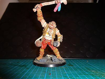 Reaper RAFM Warhammer Blorg Hill Giant Well painted