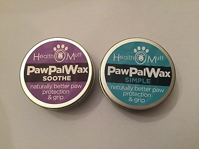 Health Mutt Paw Wax - Simple and Soothe