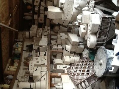 1000 Ceramic moulds +2x 3 cubic ft Kilns ,pouring table, buckets complete set up
