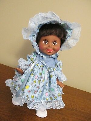 """JUST FOR EASTER 3 piece dress set, for 11""""-13"""" for TINY TEARS or same size dolls"""