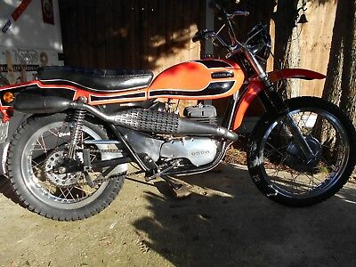 Ossa Pioneer 250 1972 very rare road reg with MOT
