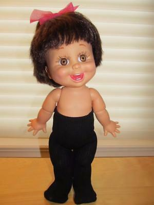 """BLACK TIGHTS for DOLLS 13"""" - 15"""" Tiny Tears, Baby Face+other dolls this size"""