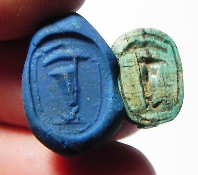 Zurqieh -Asw260- Ancient Egypt , New Kingdom Stone Scarab. 1550 - 1070 B.c