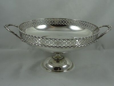 SUPERB, solid silver FRUIT BOWL, 1913, 564gm - Mappin & Webb