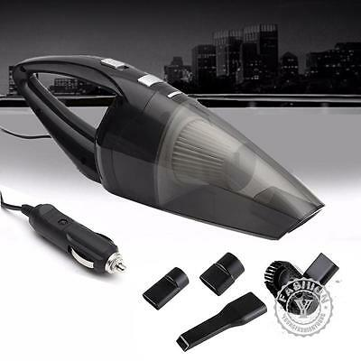 12V Wet Dry Vac Vacuum Cleaner Inflator Portable Turbo Hand Held for Car Home HM