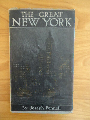 The Great New York by Joseph Pennell 1912 A collection of prints of New York